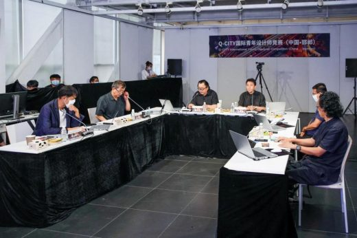 Q-CITY International Young Designer Competition Final Review Meeting