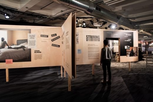 Rising Together isometric exhibition New York City