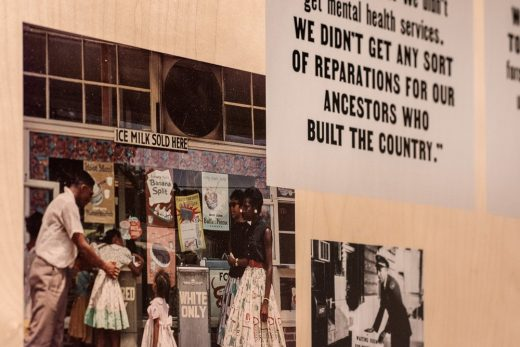 Rising Together: The Black Experience with Police in America' exhibition