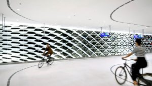 The Hague bicycle parking garage