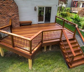Tips for staining a previously wooden deck