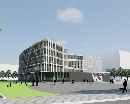 Vitoria-Gasteiz City Council Offices building design by IDOM