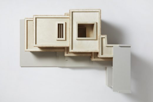 Walter Segal Home Extension in Highgate, North London model