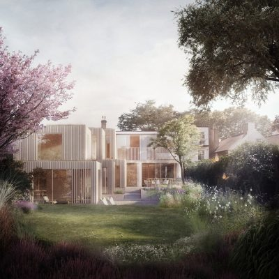 Walter Segal home extension in North London