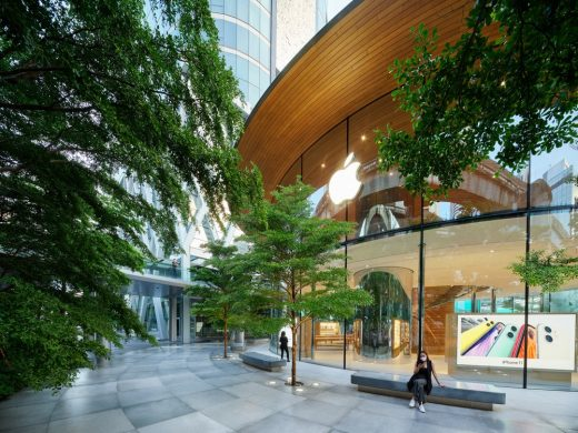 Apple Central World Bangkok Architecture News - Foster + Partners