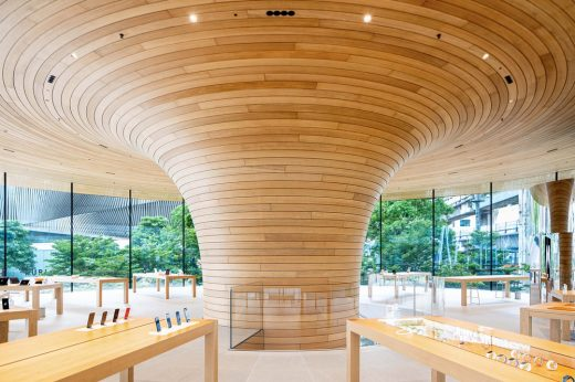 Apple Central World Bangkok retail building