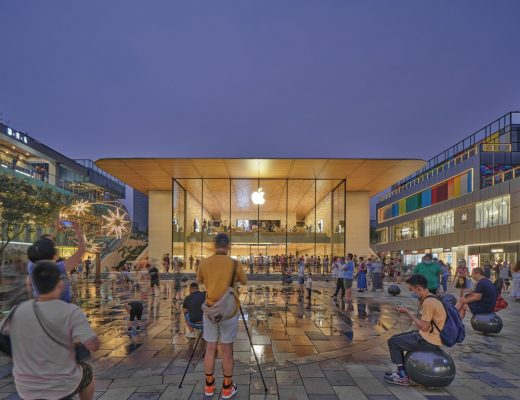 Apple Sanlitun, Beijing store by Foster + Partners