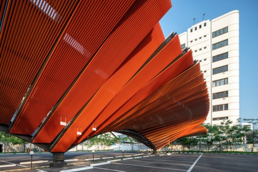 Car Parking Solar Roof Bangkok, Thailand