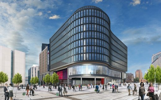 Cardiff Transport Interchange building by Welsh architect office