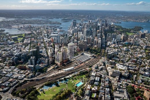 Central Place Sydney buildings by SOM