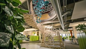 Cundall Birmingham Office Building staircase