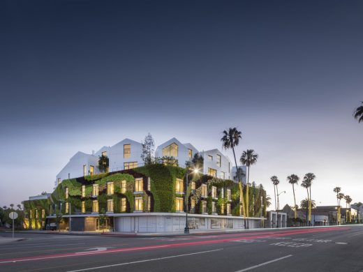 Gardenhouse, Beverly Hills, Los Angeles by MAD Architects