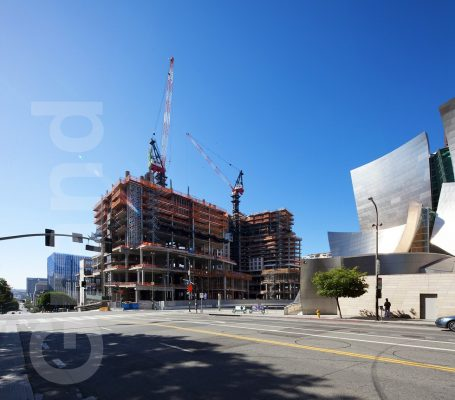 The Grand Los Angeles building design by Frank Gehry