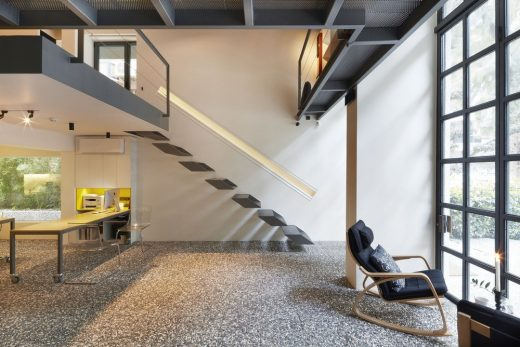 Studio Loft İzmir, Western Turkey interior design stairs