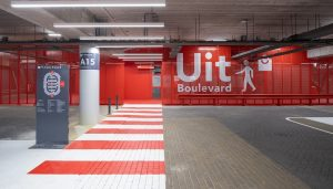 Johan Cruijff Arena Parking Garage Amsterdam