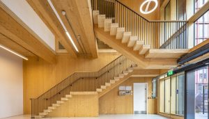 King's Cross Sports Hall London building interior