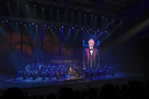 Andrea Bocelli performs at Maraya, KSA