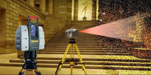 Measured building survey using 3D laser scanner