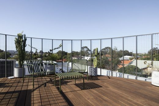 North Perth home roof deck sun terrace