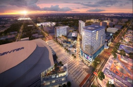 Orlando Sports & Entertainment District Digital Twin project
