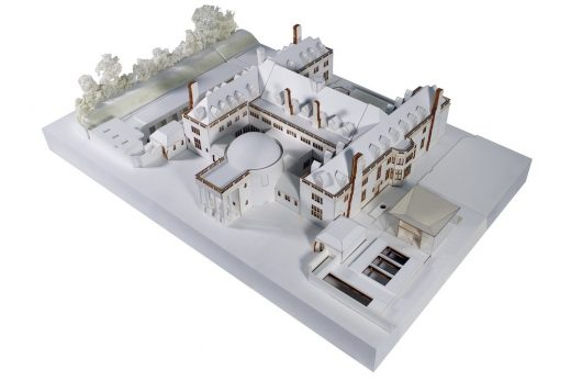 Rhodes House, Oxford building model