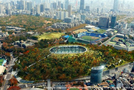 Tokyo 2020 Olympic Stadium competition proposal