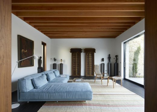 Windward House in Gloucestershire by ABA interior bedroom