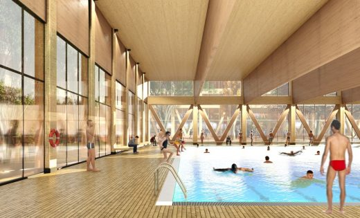 Xiong'an new city pool