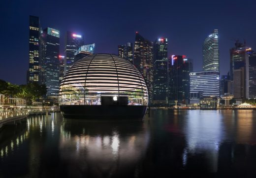 Apple Marina Bay Sands Singapore Building