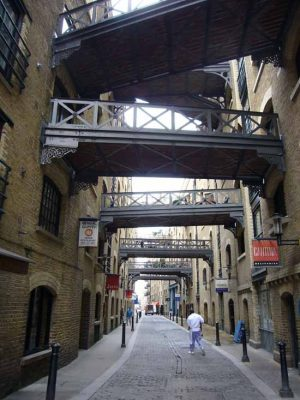 Butlers Wharf, off Shad Thames, Bermondsey