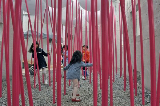 Cloud Forests Pavilion for Children's Play, Hwaseong, South Korea, 2017 by UNITEDLAB Associates LLC.