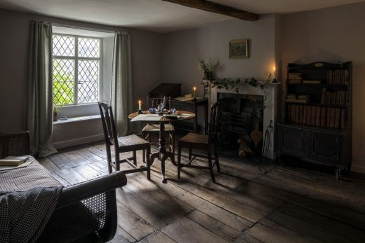 Dove Cottage sitting room writing Wordsworth Grasmere