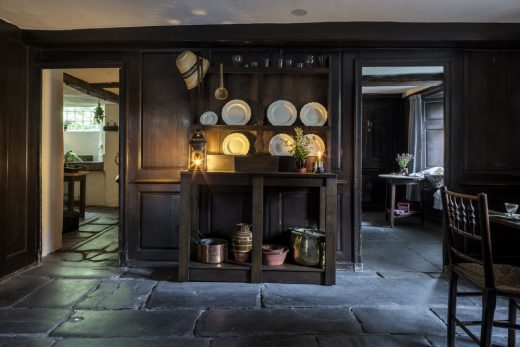 Dove Cottage Grasmere main kitchen