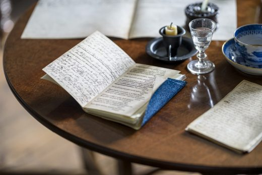 Dove Cottage Grasmere writing table
