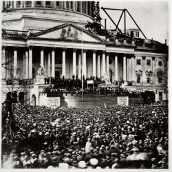 First Inauguration of President Abraham Lincoln USA