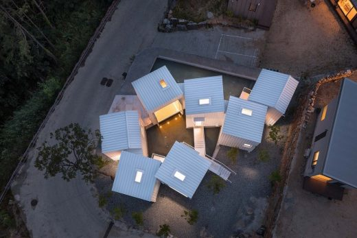 Floating Cubes, Cheongwon-Gun, South Korea, 2018  by Younghan Chung Architects
