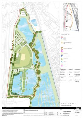 Hollybush Lakes Hampshire aquatics centre plan layout