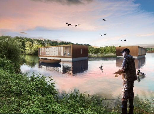 Hollybush Lakes, Aldershot, Hampshire by Baca Architects