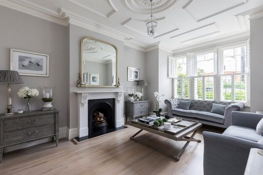 UK living room design by architect