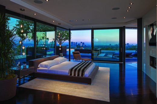 Laurel Way Residence luxury bedroom