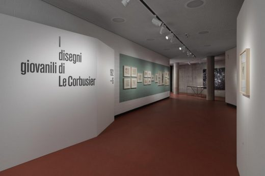 Le Corbusier's early drawings. 1902-1916 Exhibition