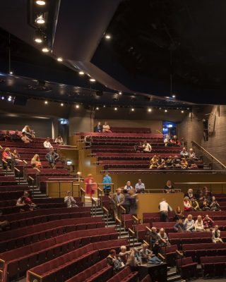 Leeds Playhouse building auditorium interior