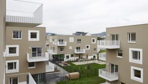 Living by the harbour Linz Sintstrasse housing