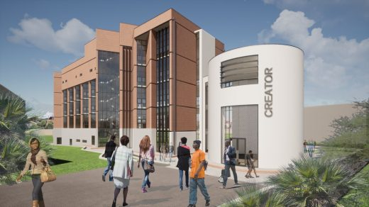 Malawi Creator Centre building - Circular Economy in Africa