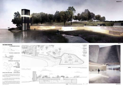 Museum of Design Oslo Competition 4th prize