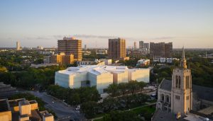 Museum of Fine Arts Houston Nancy and Rich Kinder Building from above