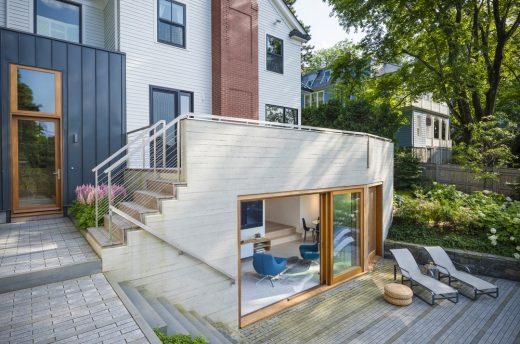 Newton Colonial Residence Massachusetts
