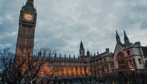 Palace of Westminster building London