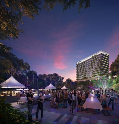 Rochester Commons Singapore design
