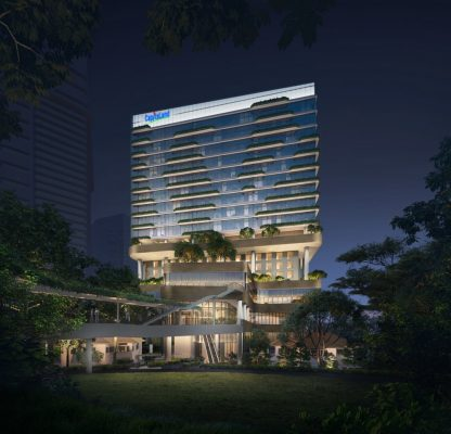 Rochester Commons Singapore tower